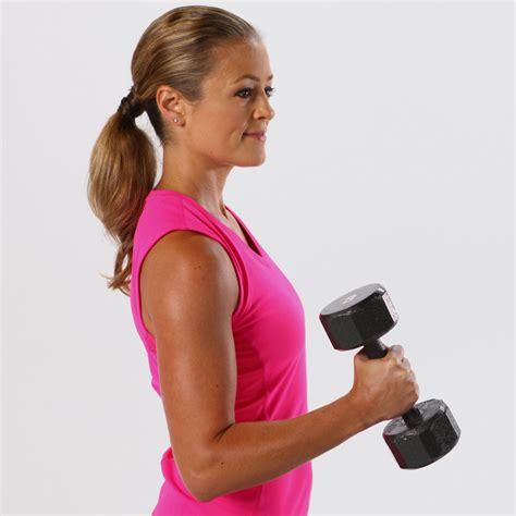 beginner arm workout  weights popsugar fitness