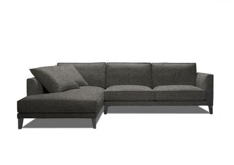 Fabric Sofa With Chaise Longue