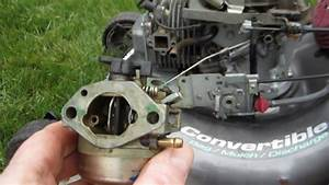 Honda Harmony Ii Hrt 216 Sda Carburetor Cleaning Lawn Mower Repair - Part Ii