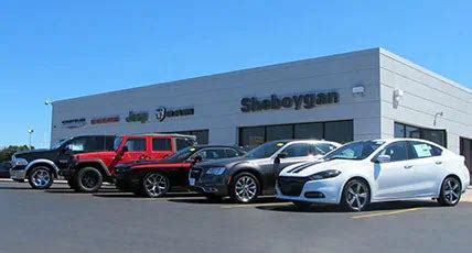 Chrysler Dealership Locations by About Our Dealership Sheboygan Dealer In