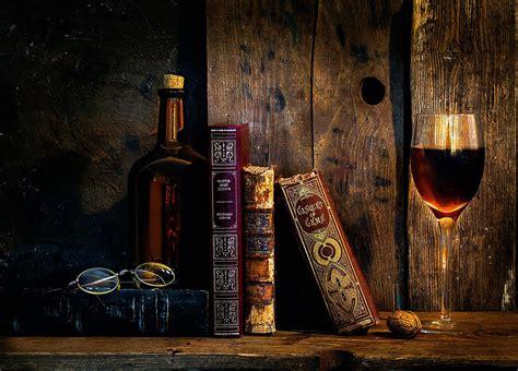 books wine glasses wallpapers hd desktop