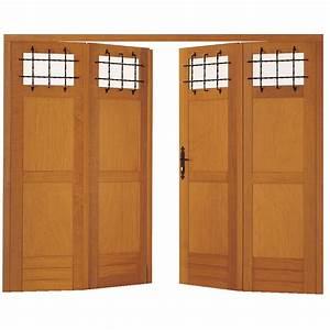 beau porte de garage avec porte interieur double battant With porte de garage et double porte bois interieur
