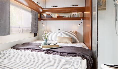 schlafen mit heizung ausstattung hobby caravan