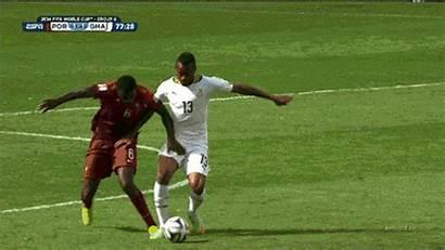 Cup Bulge Player Bulges Ball Bouncing Ayew