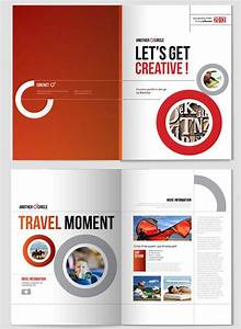 creative indesign brochure design template 1 20 simple With leaflet template indesign
