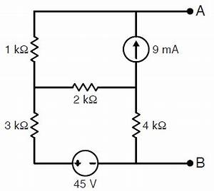 thevenin how do i find the open circuit voltage of this With open circuit