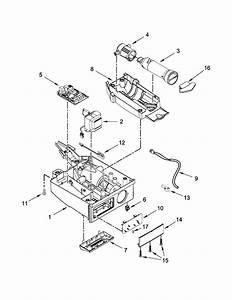 Kitchenaid Kuix505ess1 Freestanding Ice Maker Parts