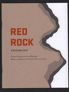 Red Rock Testimony: Three Generations of Writers Speak on ...