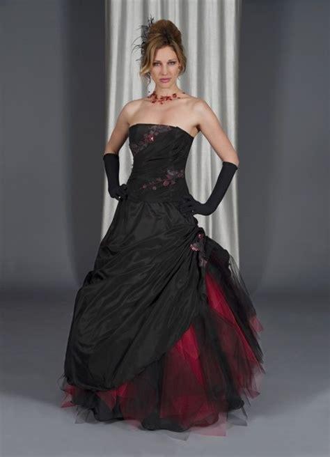black red goth wedding dress wedding stuff i can