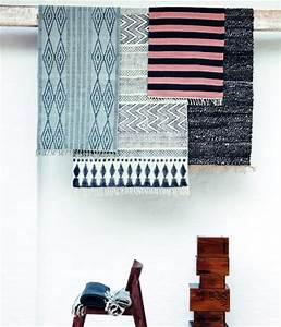Dessins im ethno stil teppiche von house doctor bild 5 for Balkon teppich mit tapeten englischer stil