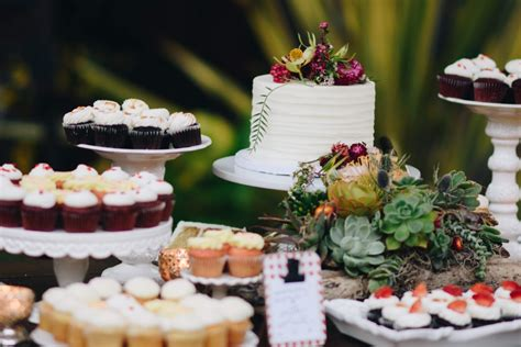 White Cake Stands and Dessert Display Coastal Classy Events