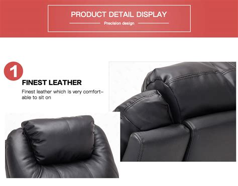 10 In 1 Leather Recliner Armchair Massage Chair 360