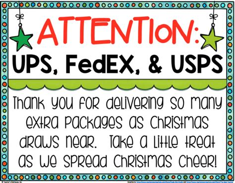 christmas gift for ups driver free treat sign for your delivery driver payitforward