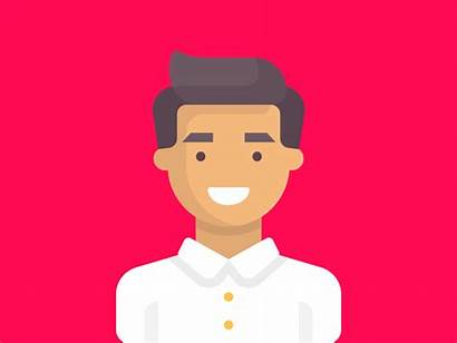 Character Icon Animated Dribbble Illustration Drawing