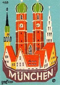 Retro Möbel München : vintage munich poster google search vintage posters graphics advertising pinterest ~ Markanthonyermac.com Haus und Dekorationen