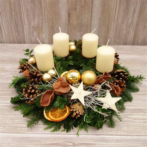 Weihnachtsdeko Adventskranz adventskranz adventskr 228 nze natur weihnachtskr 228 nze