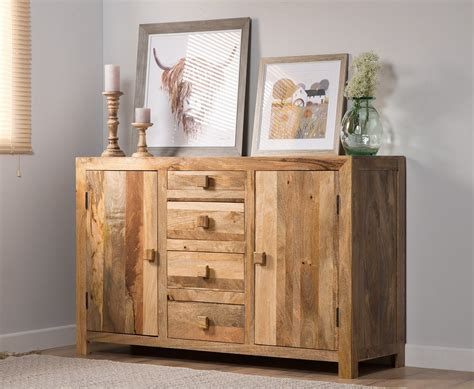 Indian Wood Sideboard by Indian Wood Sideboard Small Mango Wood Cupboards