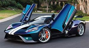 Color-Shifting Ford GT Has A Mustang SVT Cobra-Inspired Paint That Costs $100k! | Carscoops