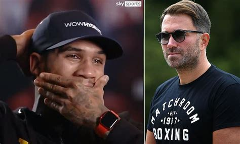 Eddie Hearn admits concerns over Conor Benn after he broke ...