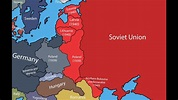 Making the Map of Eastern Europe in 1939/1940 - YouTube