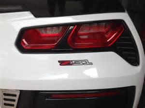 C7 Corvette Z51 Emblem