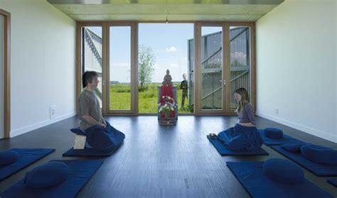 hallway bureau gallery of buddhist meditation centre metta vihara