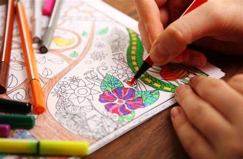 colleges turn  coloring books  de stress students