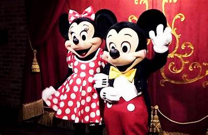 Mouse Disney Happy Mickey Waving Animated Giphy