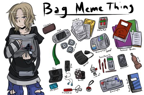 Meme Bag - bag meme by slately on deviantart