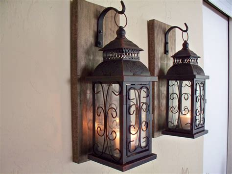 outdoor lighting fixtures sconces candle wall decor