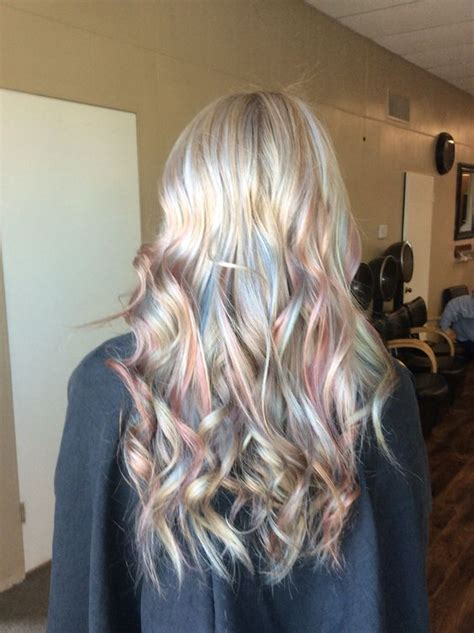 sexy expressive opal hair color   occasion