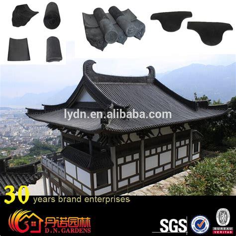 l japanse stijl japanse stijl klei dak tegels gebruikt in klassieke gebouw