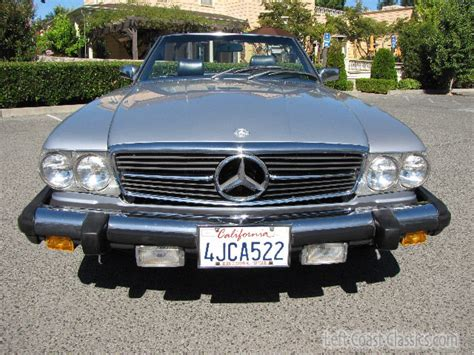 Very happy with the sales person i dealt with and very confident about purchasing a vehicle from this dealership! 1983 Mercedes 380SL Roadster for Sale