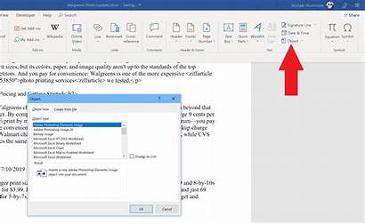 Word Microsoft Pcmag Objects Learn Need Insert
