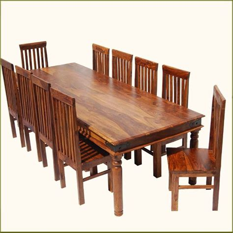 kitchen table with 10 chairs rustic large dining room table chair set for 10 people