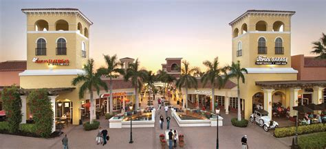 Shopping In Cape Coral Florida Im Outlet Center Miromar