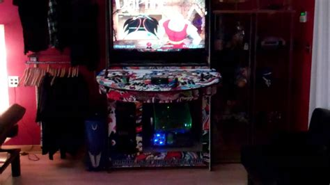 hyperspin arcade cabinet  monitor youtube
