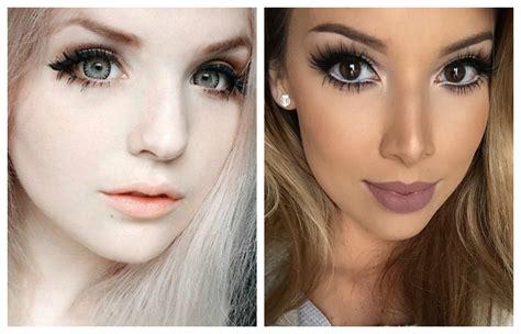 Как можно увеличить глаза с помощью макияжа?