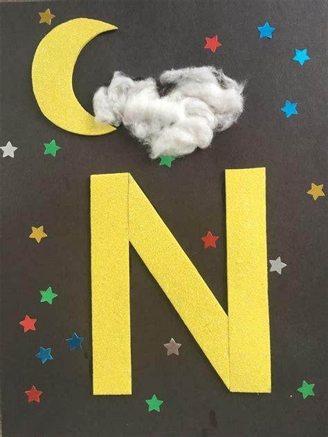 letter craft  preschool    night  images