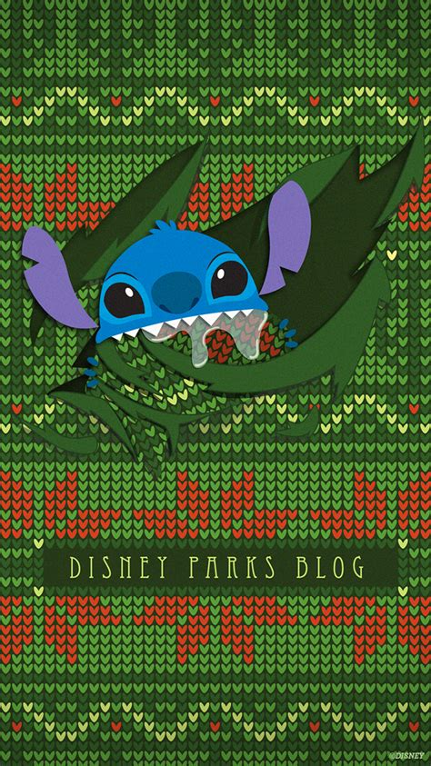 ugly christmas sweater wallpaper featuring stitch mobile