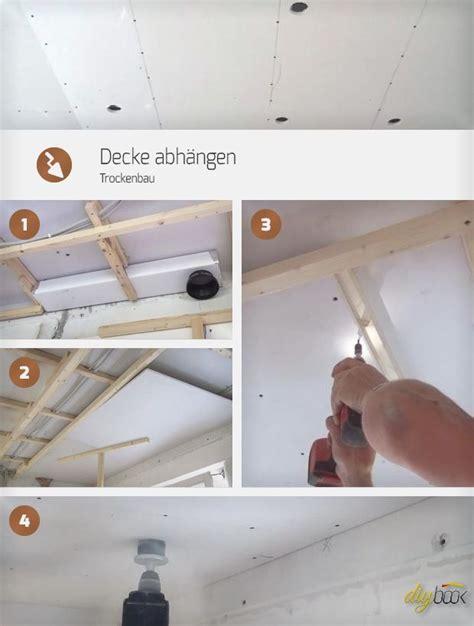 gipskartonplatten decke unterkonstruktion decke abh 228 ngen trockenbau стройка deckchen trockenbau и haus
