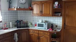 peindre mes anciens meubles de cuisine forum d39entraide With leroy merlin renovation cuisine