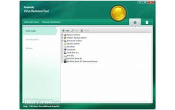 Kaspersky Virus Removal Tool screenshot #5