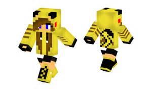 Cute Pikachu Girl Minecraft Skins