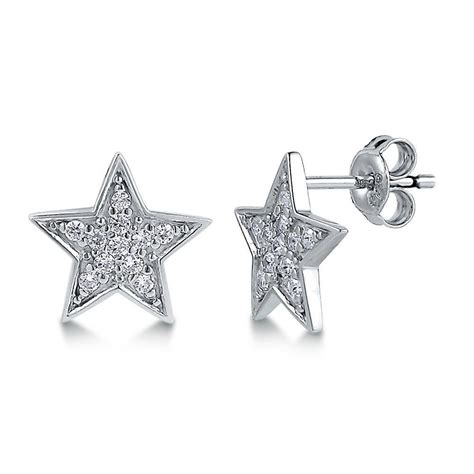 Berricle Sterling Silver Cz Star Fashion Stud Earrings  Ebay. Brownish Yellow Diamond. Bmw M3 Watches. March Bracelet. Cubic Zirconia Wedding Rings. Celtic Cross Rings. Lucky Bracelet. Guy Necklace. Baguette Diamond Eternity Band