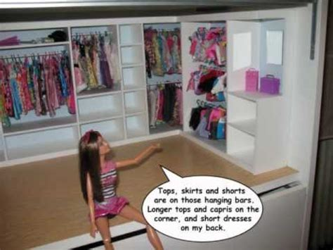 How To Make A Doll Wardrobe Closet by Tutorial Wardrobe For Dolls By Egolon