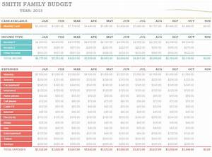Free Excel Templates For Small Business Family Budget Planner Family Budget Planning