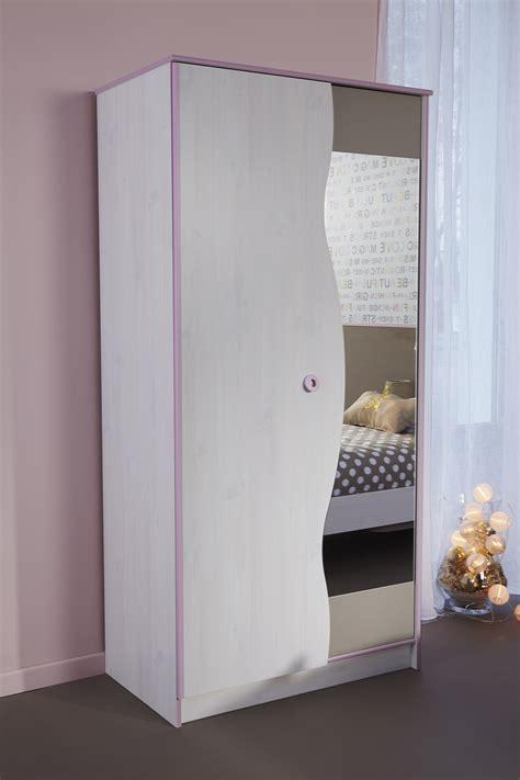 armoire chambre fille pas cher miroir de chambre pas cher