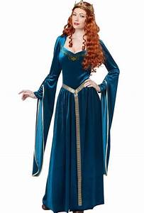 Lady Guinevere Costume Dress Adult Renaissance Queen ...