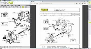 Clark Forklift Parts Pro Plus V499  03 2020